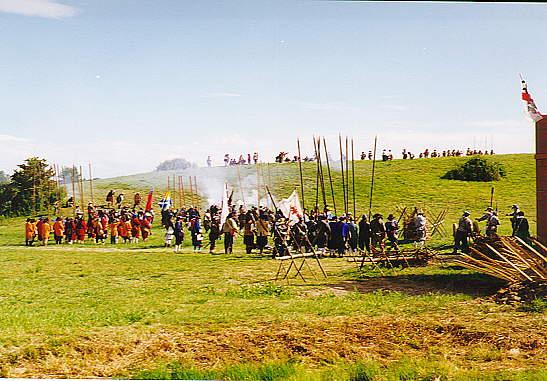 St  Maries Citty Militia - Battle of Worcester